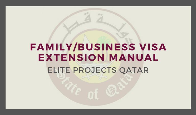 Family/Business Visa Extension Manual