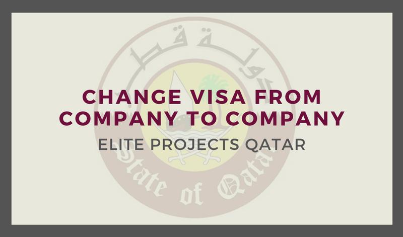 Change Visa from Company to Company