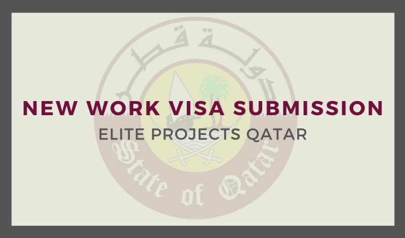 New Work Visa Submission