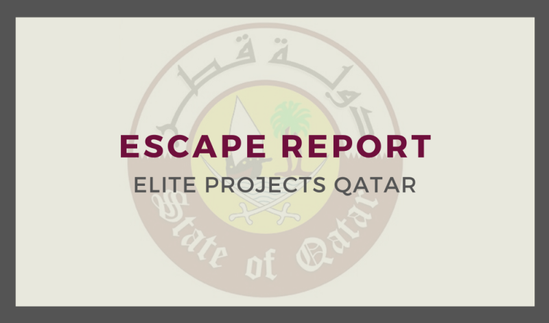 Escape Report