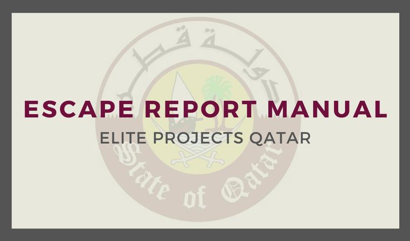 Escape Report Manual