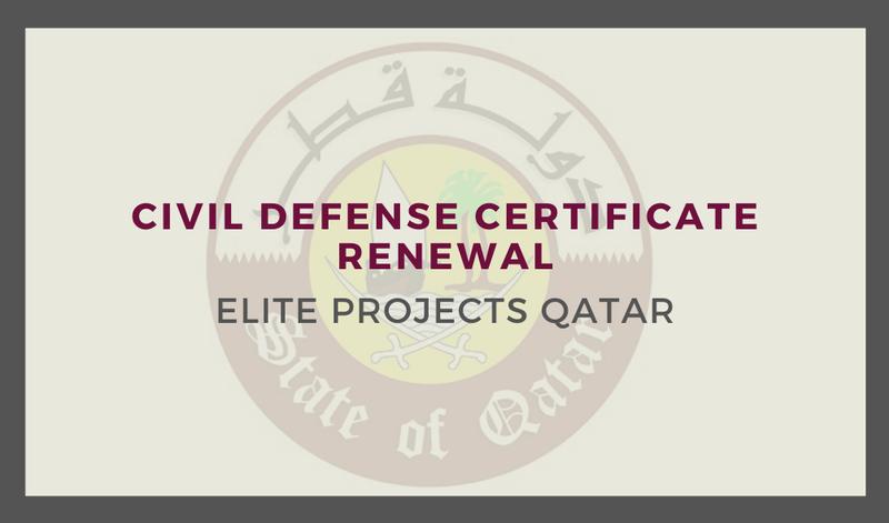 Civil Defense Certificate Renewal