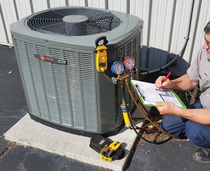 HVAC or Air Conditioner Repair