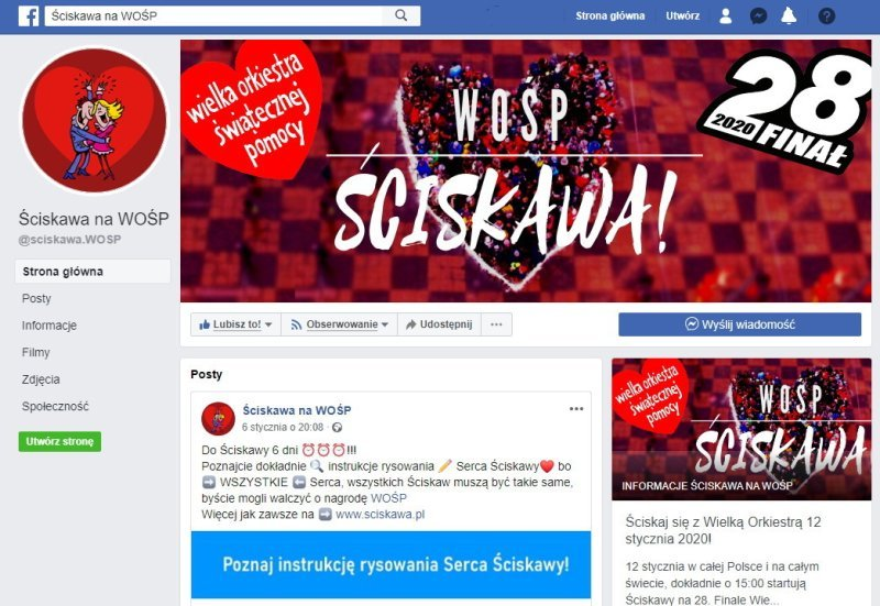 NEWS Ściskawa FACEBOOK!