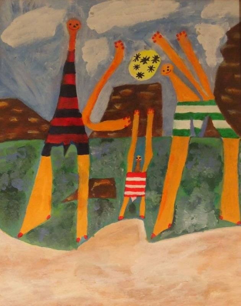 Strand, Picasso