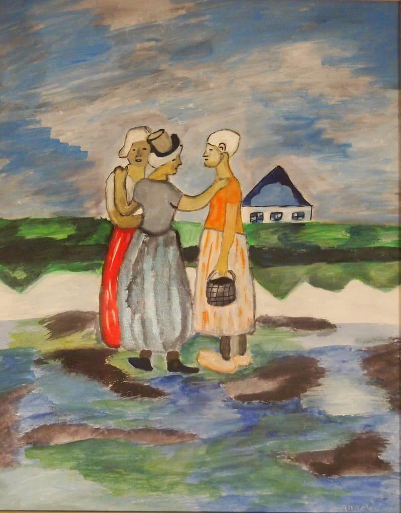 Hollandse meisjes, Picasso