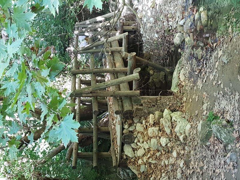 09/23 wandeling naar Chromonastiri, Myli Gorge