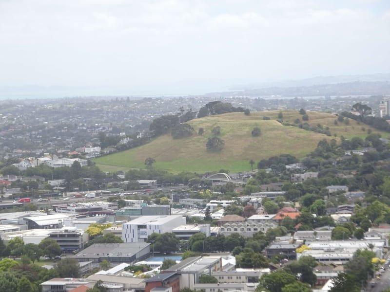 17/01 Auckland, rondwandeling