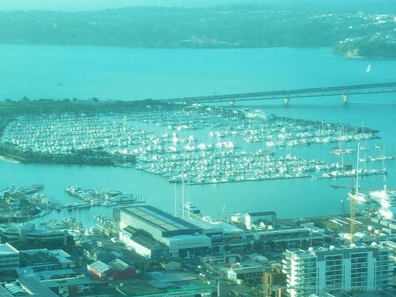 18/01 Auckland, bezoek aan de Sky Tower