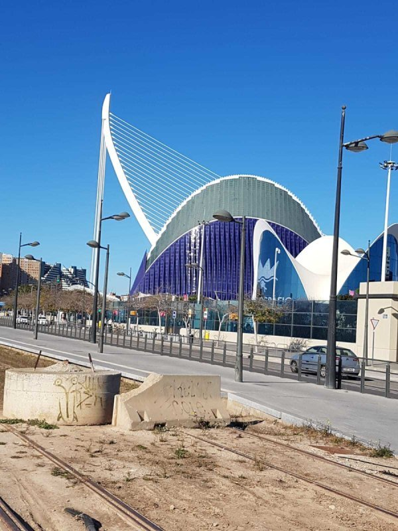 11/01 Valencia (Devesa Gardens), fietstoht naar Valencia