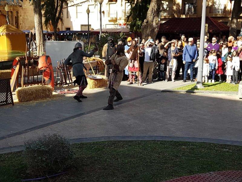 02/02 Los Ramos, fietstocht naar de braderie in Orihuela