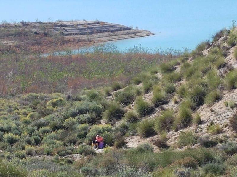 03/02 Los Ramos, fietstocht naar het stuwmeer
