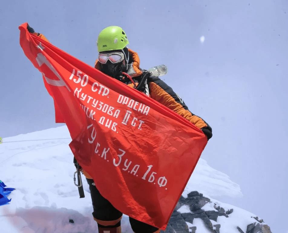 Оксана на Лхоцзе (8516 м)