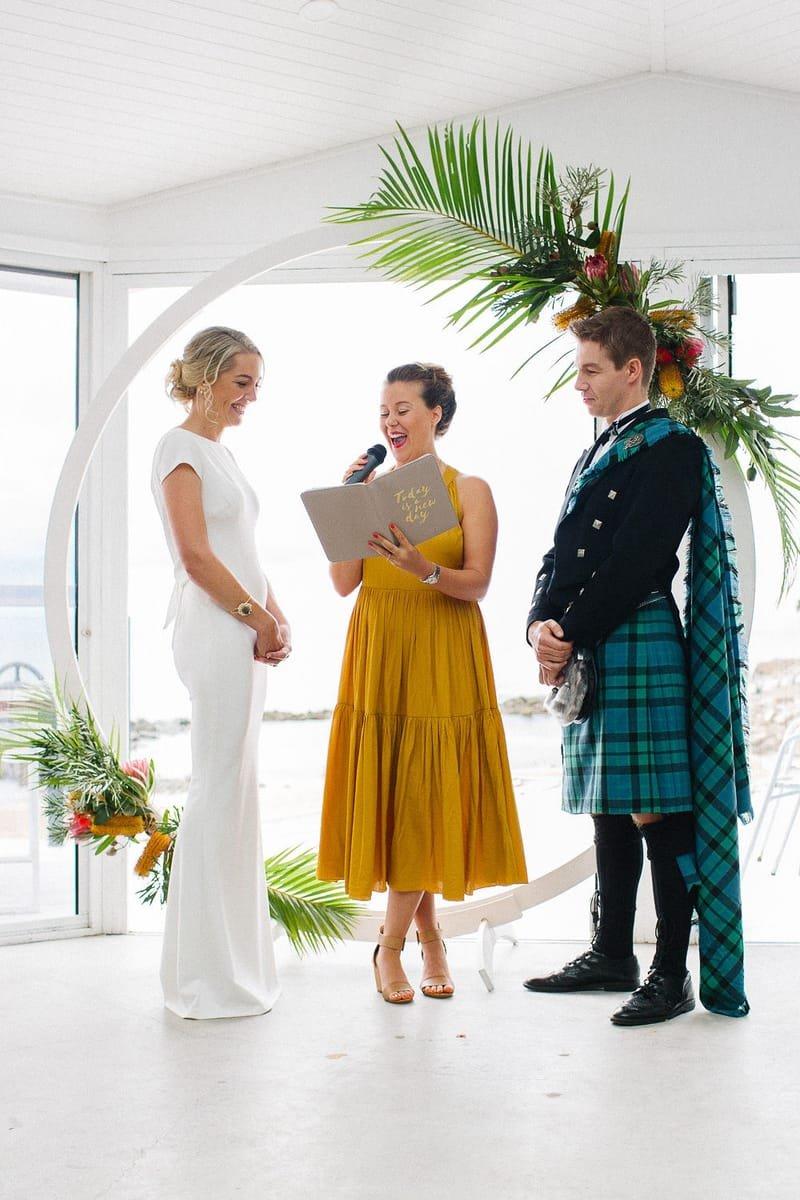 Tailored Wedding Ceremony