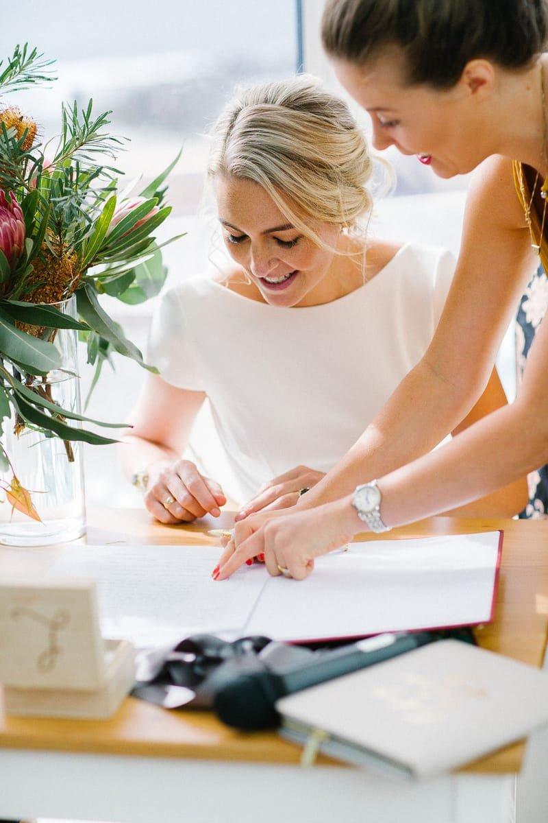 Registry Style Wedding