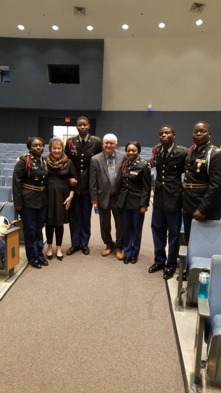 Meeting a medal of honor recipient James McCloughan