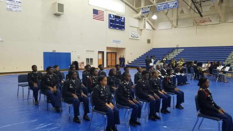 The Burke High Veterans Day Ceremony