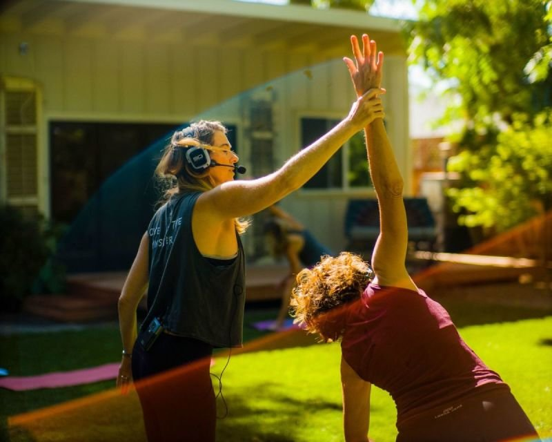 Silent Disco Yoga for Weddings, Private Events & Retreats