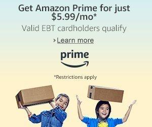 50% Savings on AMAZON PRIME