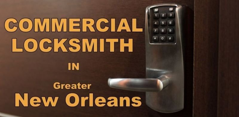 Commercial locksmith in New Orleans