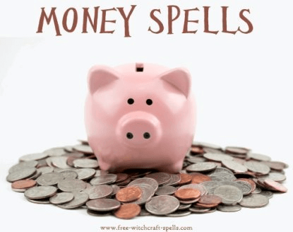 free money spells for witchcraft and magick