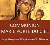 COMMUNION MARIE PORTE DU CIEL -  SPE SALVI