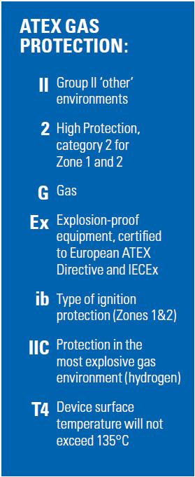 Motorola ATEX DP4401 Ex / DP4801 Ex Gaz