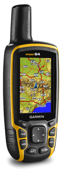 écran de carte GPSMAP64