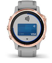 fēnix6S Pro et fēnix6S Sapphire avec écran Garmin Pay
