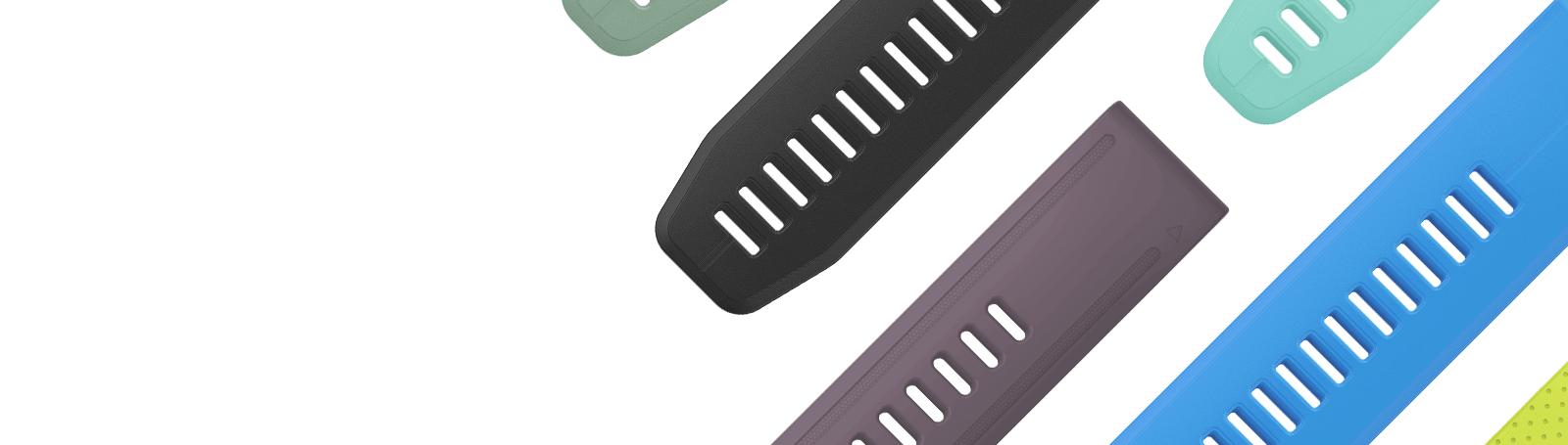 Les bracelets QuickFit® vous permettent d'assortir votre montre à votre style sans outil.