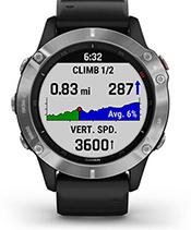fēnix6 avec écran ClimbPro