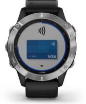 fēnix6 avec écran Garmin Pay
