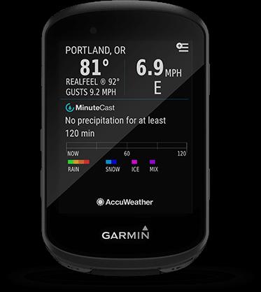 Edge 530 avec écran Connect IQ