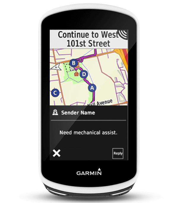 Le compteur GPS GARMIN MAROC de vélo nouvelle génération.