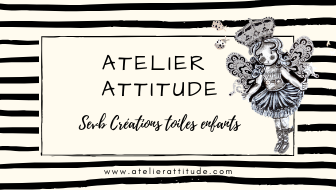 Tableaux pour enfants Atelier Attitude  !