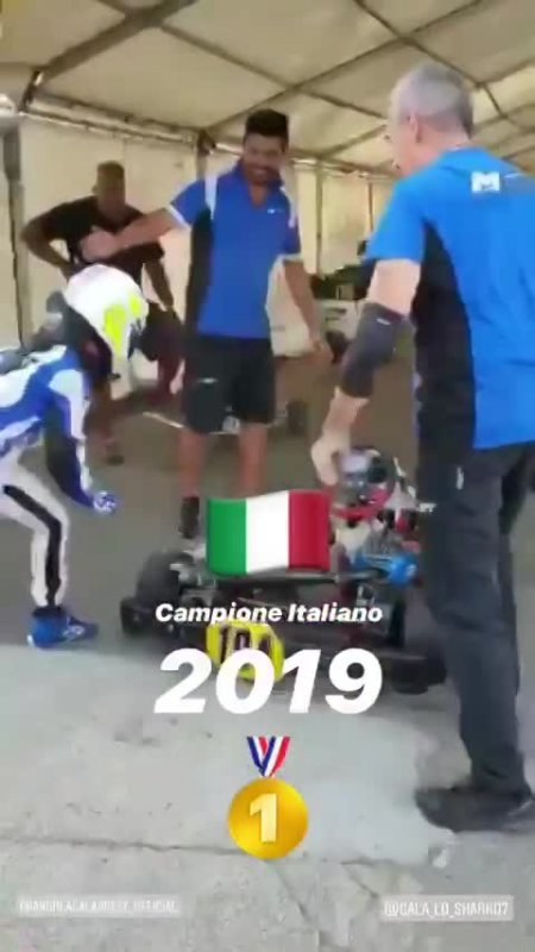 Arrivo Vittoria Rnd7 Siena 2019