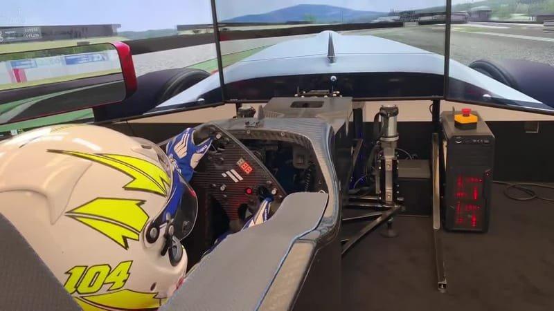F4 Abarth Simulator - Varano Circuit