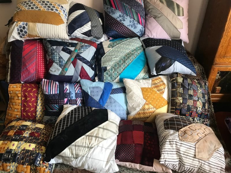 Pre-loved fabrics re-imagined