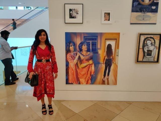 Ruth Borchard self portrait exhibition 2019