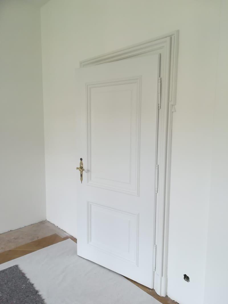 Holztür nachher