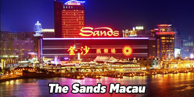 เดอะแซนด์มาเก๊า The sands macau