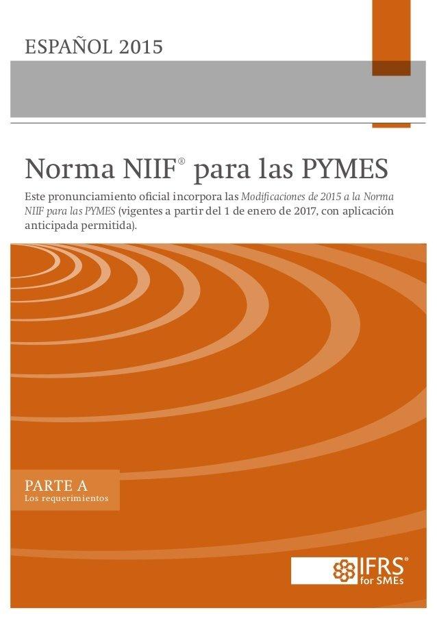 Normas Internacionales de Información Financiera para Pymes (NIIF-Pyme)