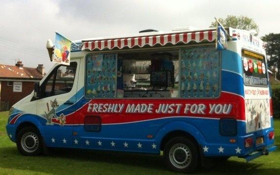 Our Ice Cream Vans