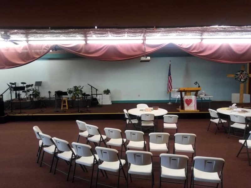 Church Stage