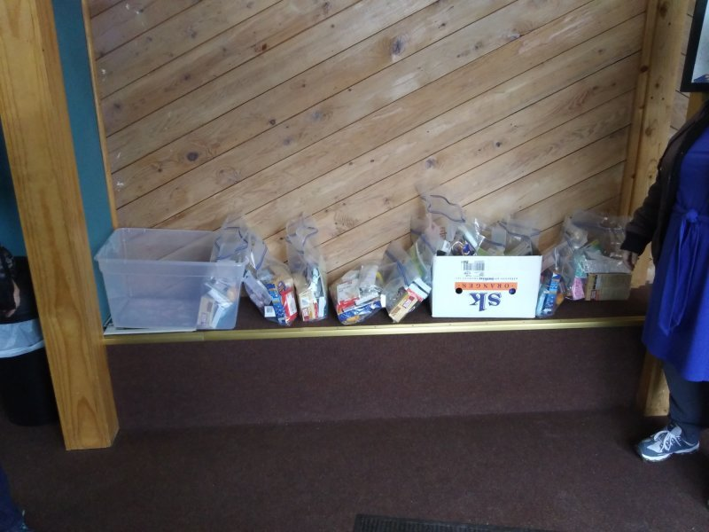 Bags of Care Packets