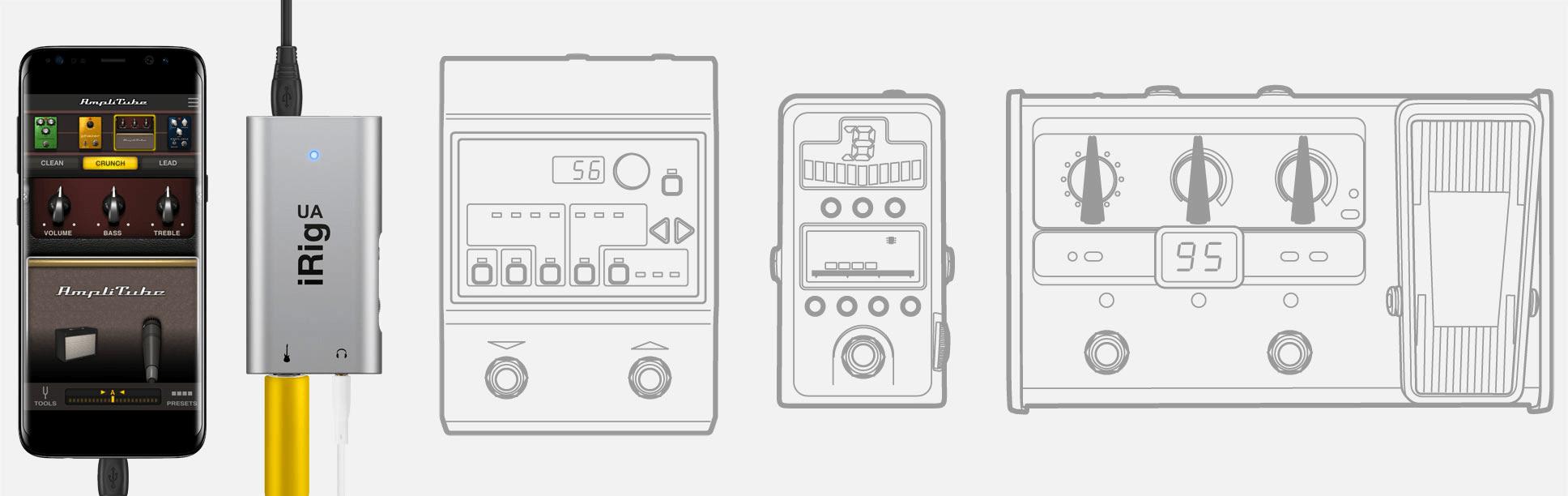 AmpliTube UA - comparison