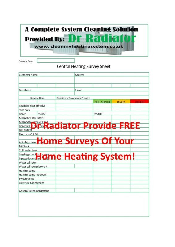 Step 2. FREE Home Heating System Survey