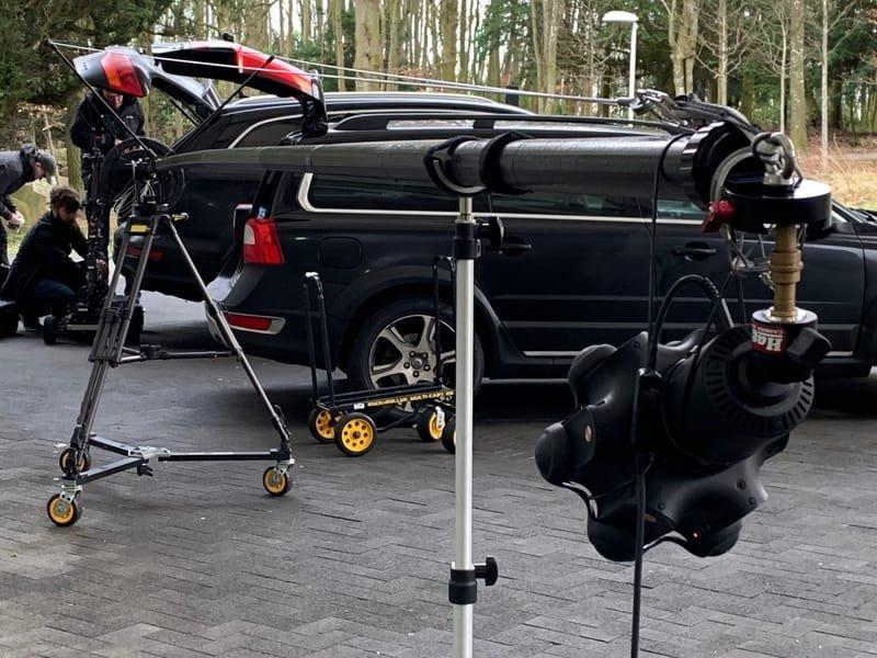 Polecam with 360 camera.2020