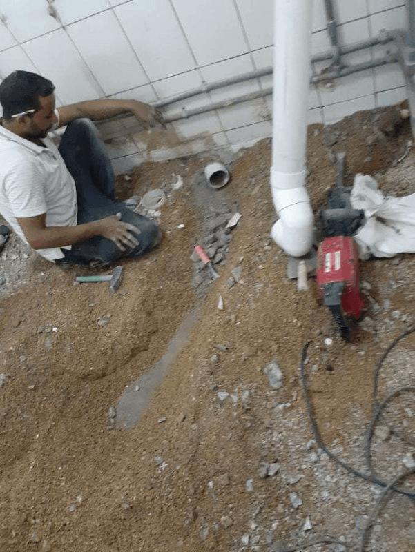 إصلاح وصيانة الحمامات