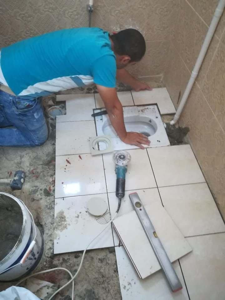 اصلاح وصيانة الحمامات ترميمات حمامات